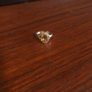 Jewelry - Sterling Silver Citrine ring.